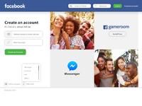 Facebook login redesign