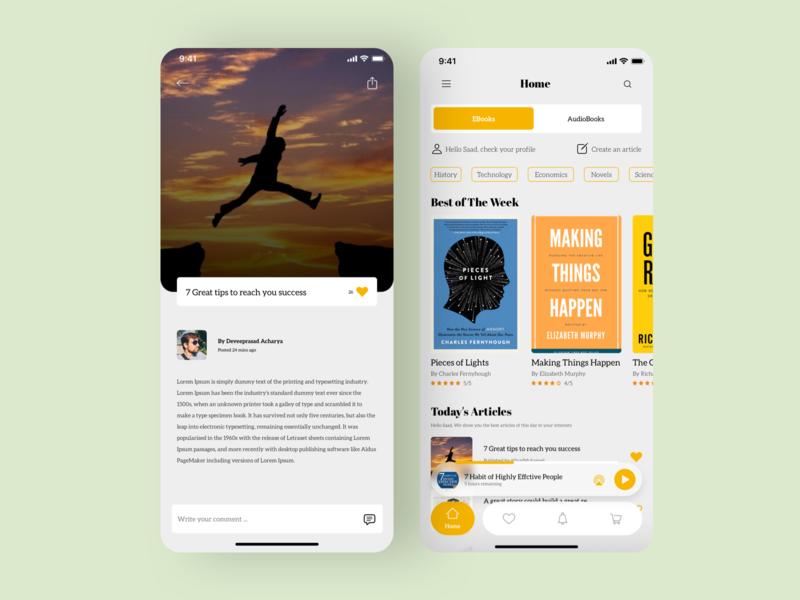 EBooks App ebooks book app sketch visual design dribbble ios app ux design ui design