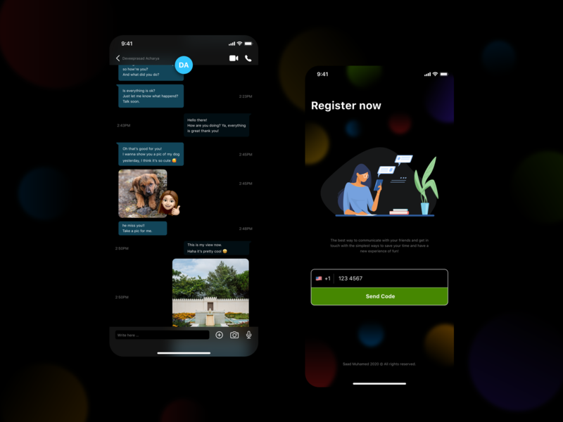 Chat template - simple registration page registration page chat app figma chatting app sketch visual design dribbble xd ios app ux design ui design