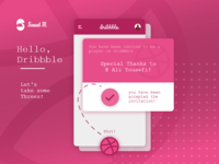 Dribbble First Shot!