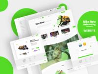 Nike New Rebranding - Website