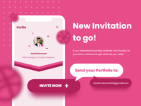 Dribbble Invitation to go!