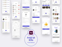 Food Delivery - Free UI Kits