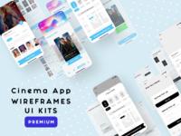 Cinema App   UI Kits