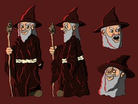 The Wizard_Character design