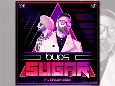 Sugar_Poster poster poster art punjabi song poster music concept cover song