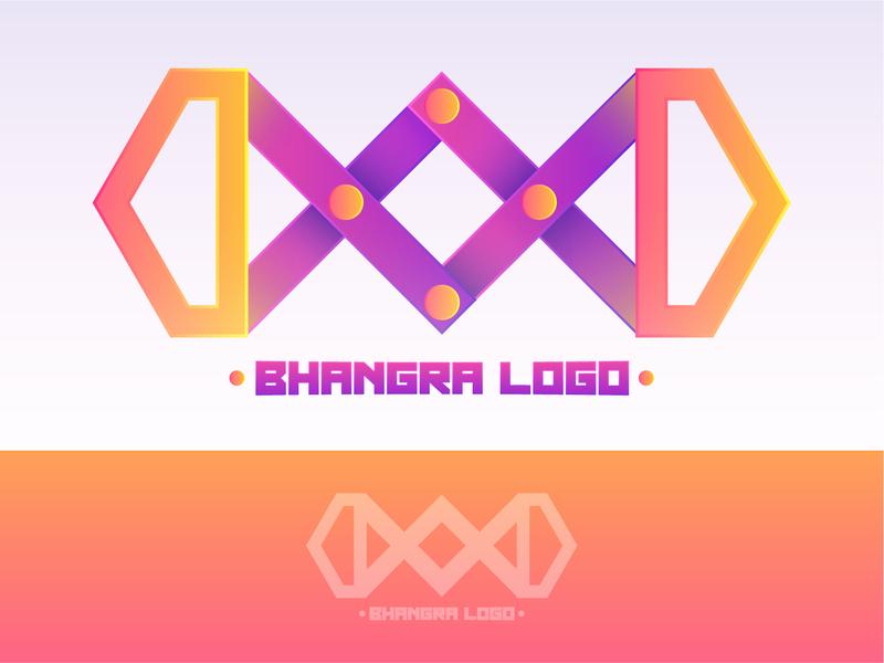 Bhangra_Logo vector logotype illustrator graphics design logodesigner creative branding art design logo