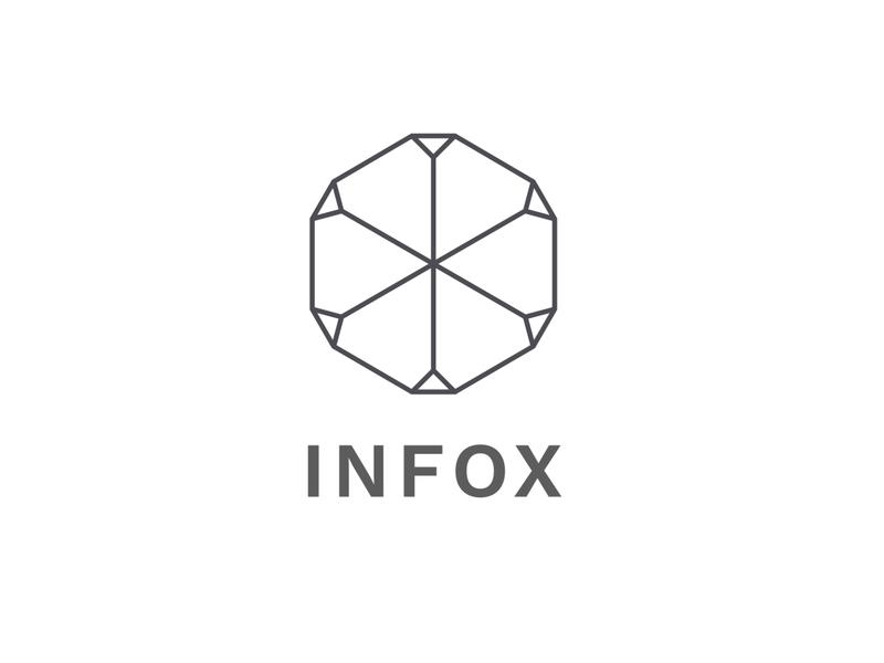 Infox Application Icon (work version) app ui icon branding vector design