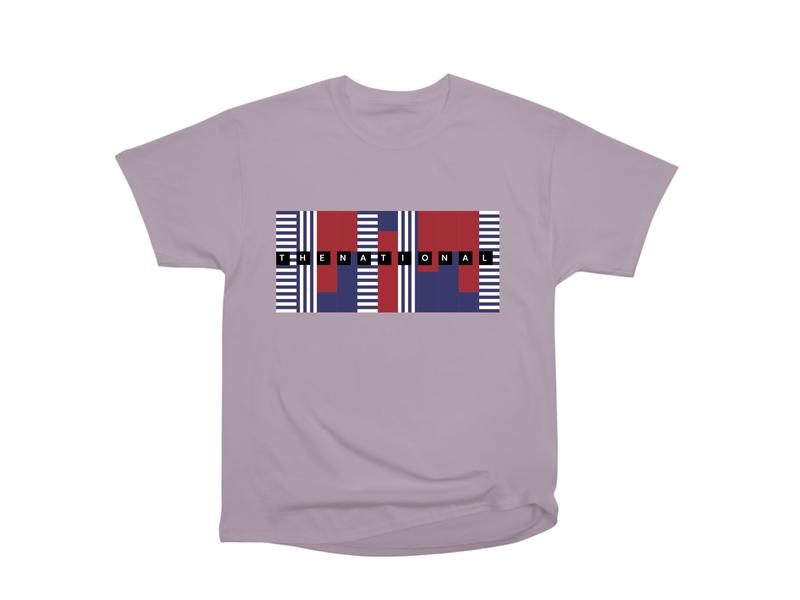 The National thenational t-shirt geometric vector tee design dribbbleweeklywarmup