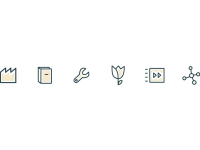 New icons for Bizmaster website.