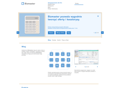 Bizmaster website v3