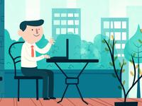 Bidding HR - Styleframe for explainer video