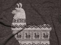 Llamas make the best sweaters - Shirt
