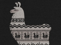 Llamas make the best sweaters - Shirt