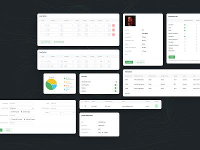 Digital Mortgage Platform Dashboard Widgets dashboard design dashboard ui dashboad widgets loans loan calculator loan uiux design uiux uidesign ui