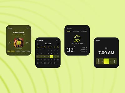 Watch Interface - Exploration watchui watchinterface watch uiux design uiux uidesign ui