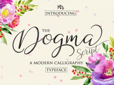 dogma calligraphy font