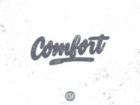 Comfort handlettering