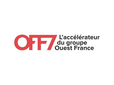 Off7 - Accelerateur Groupe Ouest-France logo branding