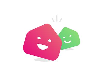Allovoisins branding identity logo