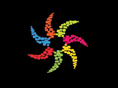pixelflower unique app finance creative multimedia pixel