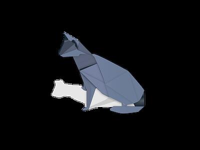 origami cat origami