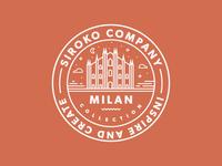 Sticker for Siroko // Milan Collection