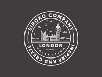 Sticker for Siroko // London Collection
