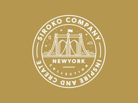 Sticker for Siroko // NewYork Collection