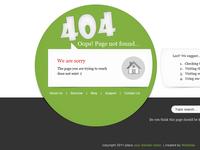 4 O! 4 error page