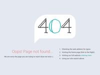 404 Oops!