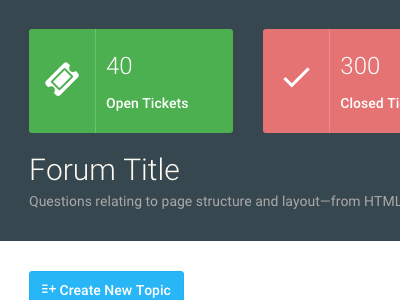 Support forum template admin template support forum dashboard backend forum support