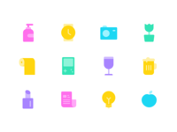 12 icons for daily necessities