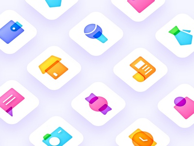 fashion colorful icon daily practice inner shadow icon gradual icon icon daily practice