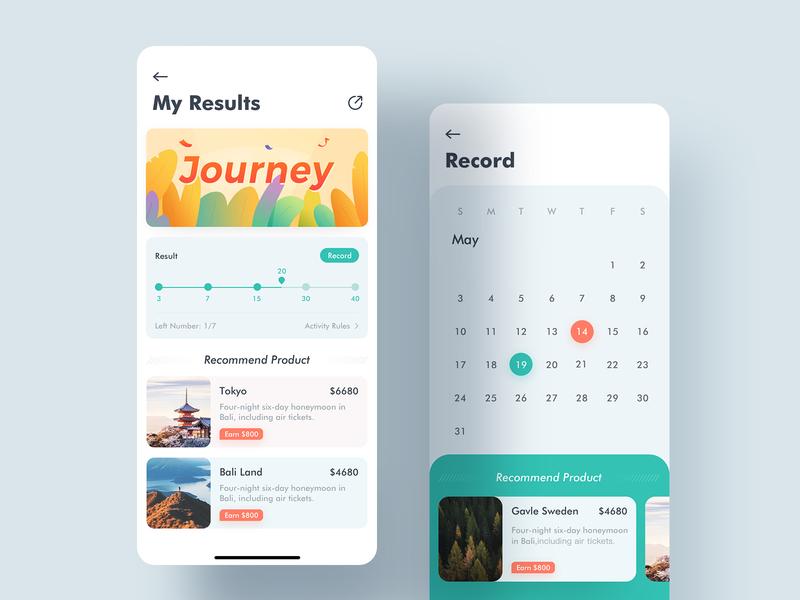 2B Travel App Design to b 2b travel app 2b app calendar ui travel app ui daily practice