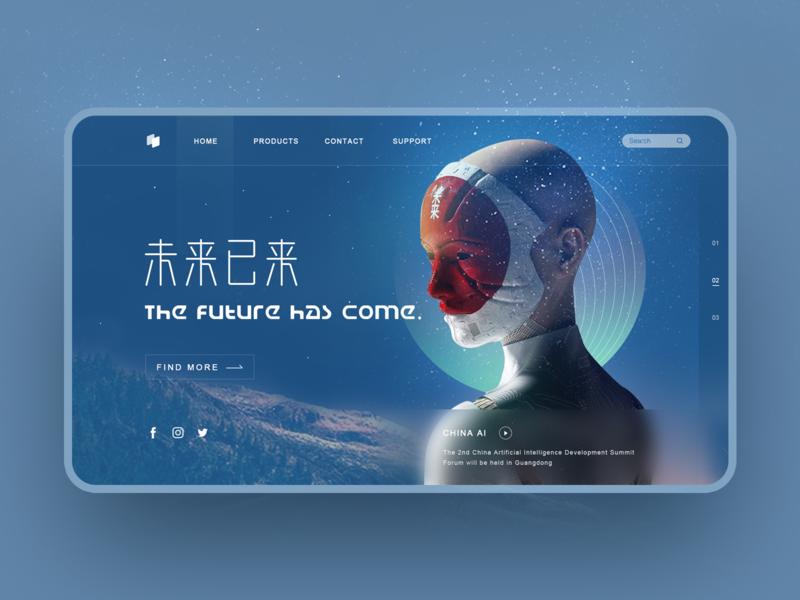 AI Web Design technology artificial intelligence future web design web ui web design ai