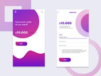 Mobile banking app UI - Transfer Money
