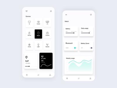 Smart Device Control UI