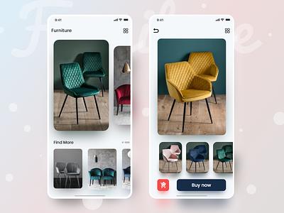 Furniture furniture app app ui ux app design app clean uiux ux ui design