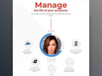 Compucom - Customer Portal ux ui product design