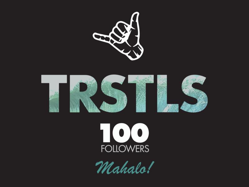 TRSTLS - Instagram Post logo design