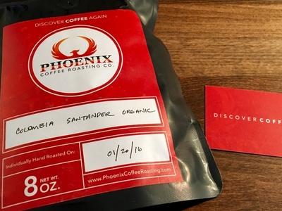 Phoenix Coffee Roasting Label Design packaging design labels coffee roasting coffee