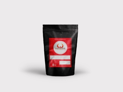 Phoenix Coffee Roasting Company Packaging coffee roasting coffee logo branding packaging design
