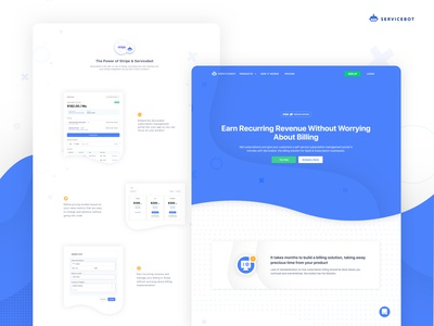 Servicebot Website Redesign 2019