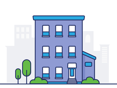 Apartment Building condo graphic vector figma illustration illustrator branding graphicdesign townhouse building apartments apartment