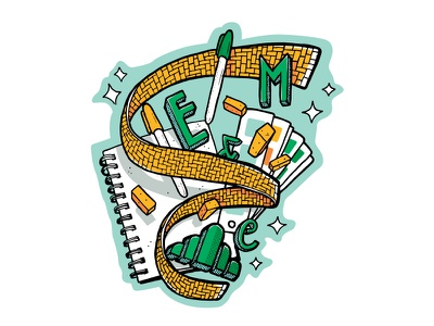 Emerald City Design Process design process art concept brainstorming illustration