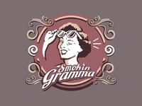 Smokin Gramma Illustration