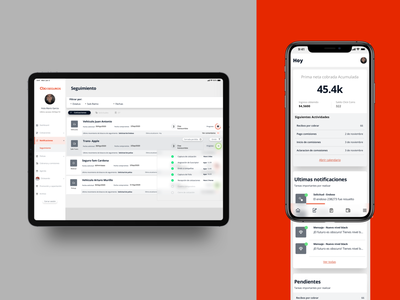 CLICK insurance app insurance dashboard ui app minimalist minimal design ios ux mobile ui
