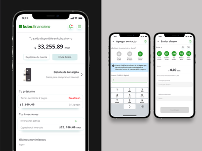 Wallet Concept finance fintech mobile ui dashboad wallet