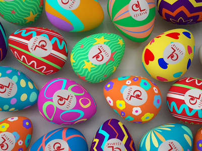CJ Lasso Easter Eggs